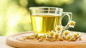 Os benefícios do chá de camomila para sua saúde